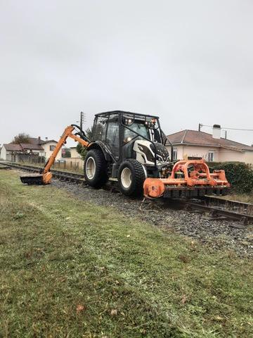 Nos travaux pour la SNCF
